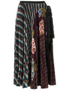 лоскутная юбка Antonio Marras