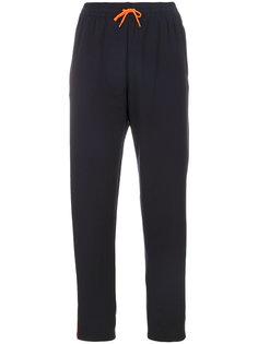 прямые спортивные брюки Versace