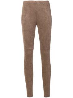 брюки скинни с высокой талией Cambio
