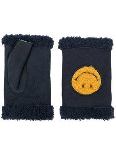 перчатки-митенки Smiley Agnelle