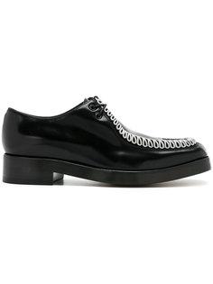 туфли с контрастной строчкой Raf Simons