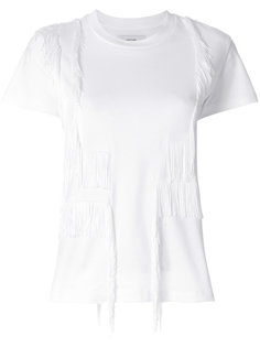 футболка с бахромой Facetasm