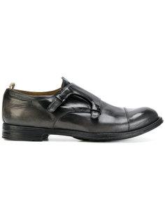 туфли-монки с потертой отделкой Officine Creative