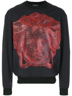 толстовка с принтом головы Медузы Versace
