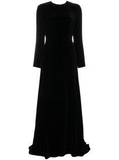 длинное платье с открытой спиной Racil