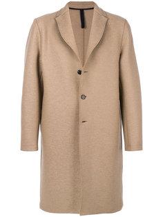 классическое пальто на пуговицах Harris Wharf London