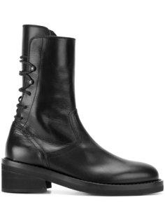 ботинки с высокой щиколоткой Ann Demeulemeester