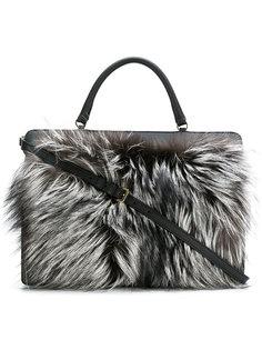 сумка-тоут Like с лисьим мехом Furla