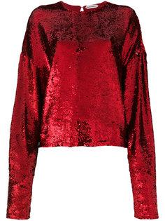 блузка с пайетками Giacobino