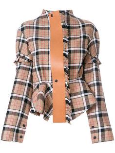 пиджак в клетку  Loewe