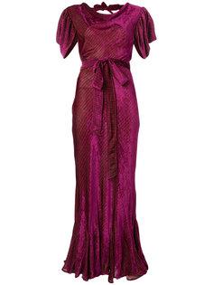 вечернее платье с поясом Attico