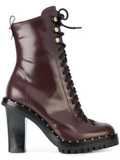 ботильоны на шнуровке Valentino