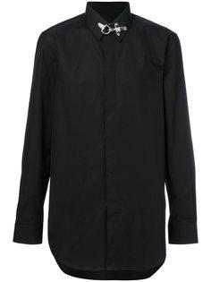 рубашка с застежкой на крючок  Givenchy