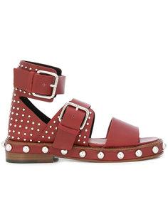 сандалии с заклепками Red Valentino