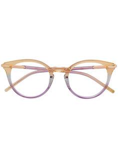 очки в прозрачной оправе Pomellato