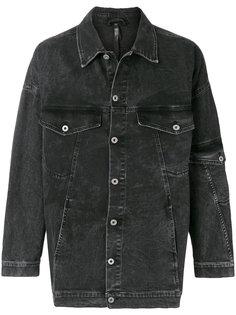 удлиненная джнсовая куртка  Barbara I Gongini