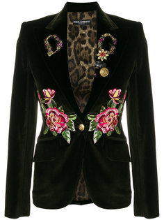 пиджак с вышивкой Dolce & Gabbana