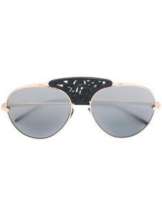 декорированные солнцезащитные очки Pomellato