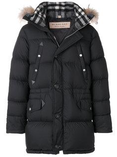 стеганое пальто Burberry