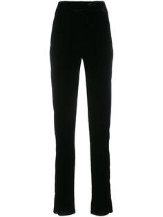 брюки скинни с высокой талией Saint Laurent