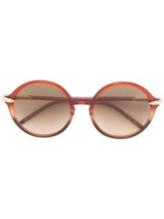 солнцезащитные очки круглой формы Pomellato