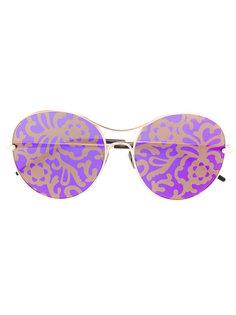 солнцезащитные очки с цветочными линзами Pomellato