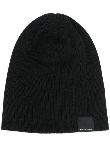 шапка-бини в рубчик Canada Goose