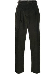 вельветовые брюки с пряжкой  A.P.C.
