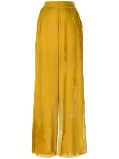 широкие бархатные брюки  Aviù