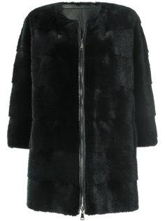 меховое пальто P.A.R.O.S.H.
