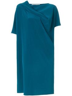 платье с драпировкой  Gianluca Capannolo