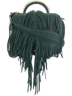 сумка на плечо с бахромой The Volon