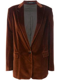 бархатный пиджак Emily Tagliatore