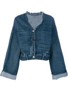 джинсовая куртка с широкими рукавами  Golden Goose Deluxe Brand