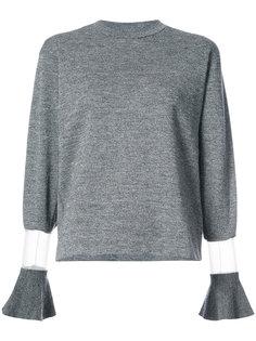 свитер с расклешенными манжетами Toga