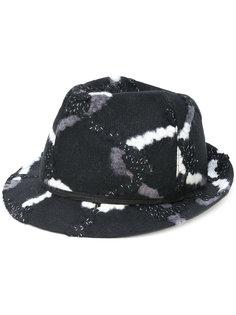 шляпа с принтом Le Chapeau