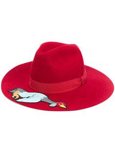 фетровая шляпа с аппликацией Ultràchic