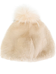 вязаная шапка с помпоном Liska