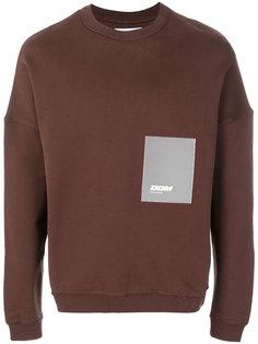 свитер с заплаткой Drôle De Monsieur