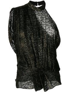 блузка с асимметричными рукавами Iro