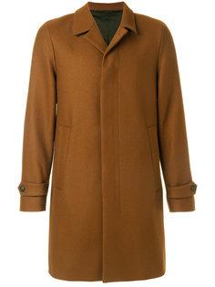 классическое пальто на пуговицах  Hevo