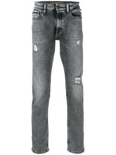 прямые джинсы с рваными деталями Ck Jeans