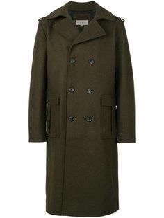 двубортное пальто в стиле милитари Ck Jeans