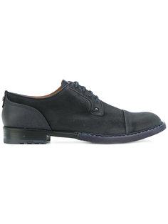 туфли со шнуровкой и панельным дизайном Brimarts