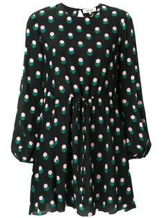 платье в горошек Dvf Diane Von Furstenberg