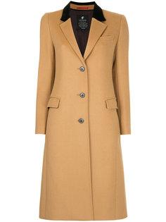 пальто с бархатным воротником Loveless