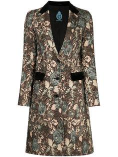 пальто с цветочным узором Guild Prime
