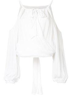 блузка Swept Away с открытыми плечами Manning Cartell