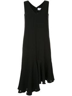 платье с оборками и люверсами Le Ciel Bleu