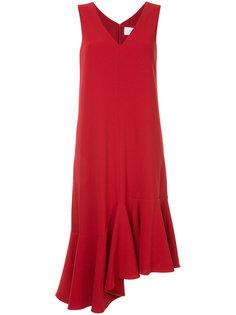 платье с люверсами и оборками Le Ciel Bleu